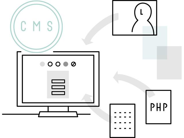 ホームページ制作 CMS構築